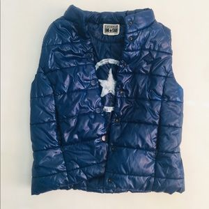 Converse One Star puffy vest